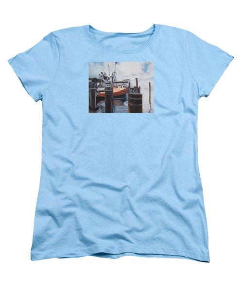 Coming Home Women's T-Shirt (Standard Cut) by Barbara Barber