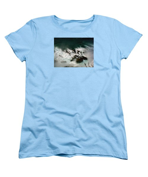 Women's T-Shirt (Standard Cut) featuring the photograph Coming Out by Harsh Malik