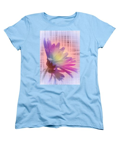 Coming To Life Love Notes Mirror Women's T-Shirt (Standard Cut) by Cathy  Beharriell