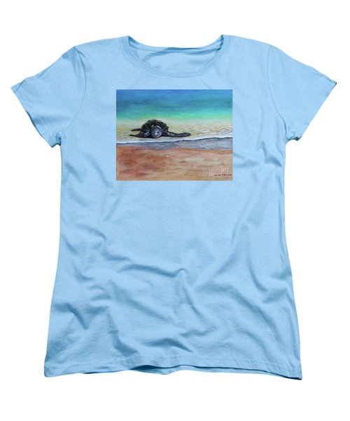 Coming To Nest Women's T-Shirt (Standard Cut) by Laura Forde