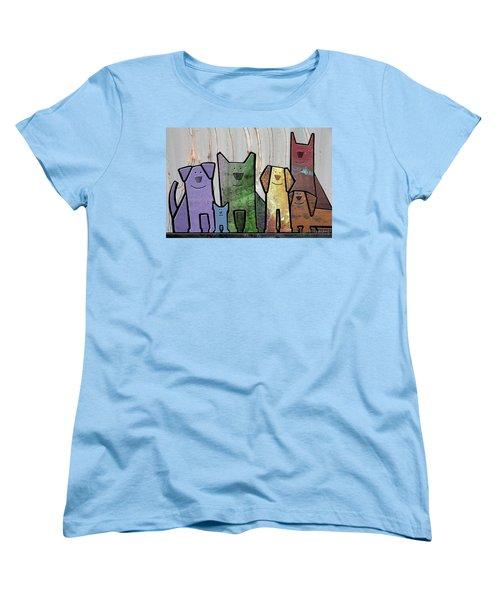 Committee Women's T-Shirt (Standard Cut) by Joan Ladendorf