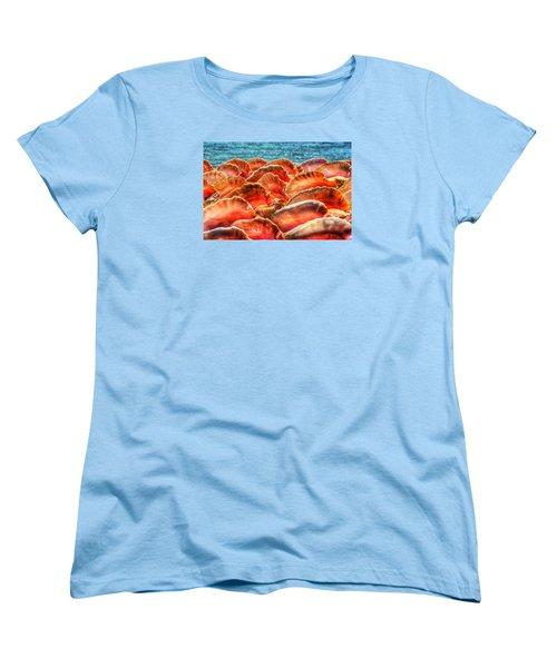 Conch Parade Women's T-Shirt (Standard Cut) by Jeremy Lavender Photography