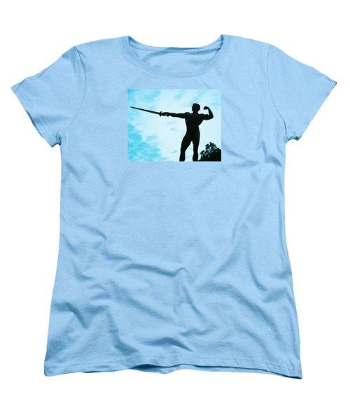 Contrast Women's T-Shirt (Standard Cut) by Jake Hartz