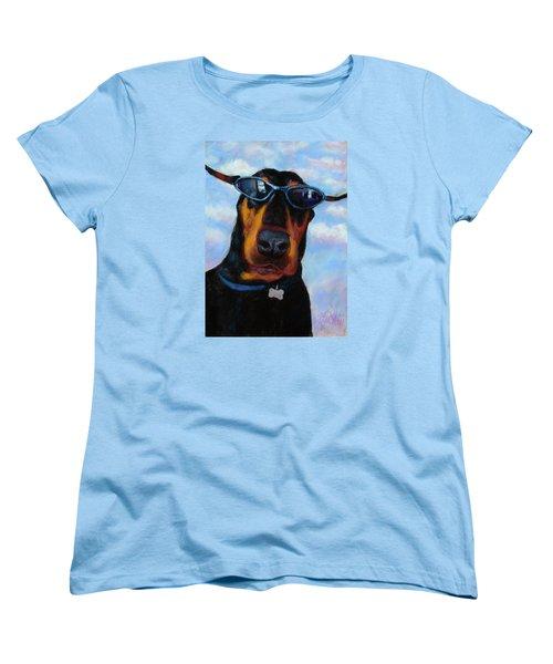 Cool Dob Women's T-Shirt (Standard Cut) by Billie Colson