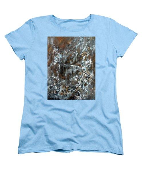 Copper And Mica Women's T-Shirt (Standard Cut) by Joanne Smoley