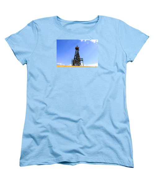 Copper Mine In Montana Women's T-Shirt (Standard Cut) by Chris Smith