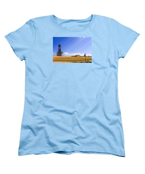 Copper Mining In Montana Women's T-Shirt (Standard Cut) by Chris Smith