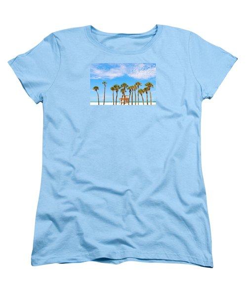 Coquina Beach Anna Maria Island Women's T-Shirt (Standard Cut) by Margie Amberge