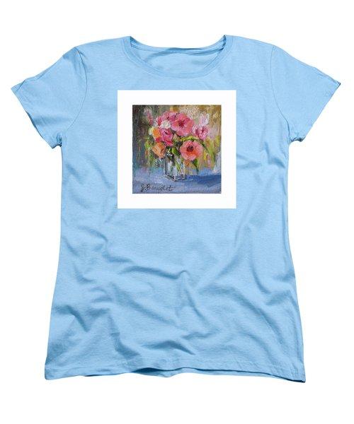 Women's T-Shirt (Standard Cut) featuring the painting Coral Bouquet by Jennifer Beaudet