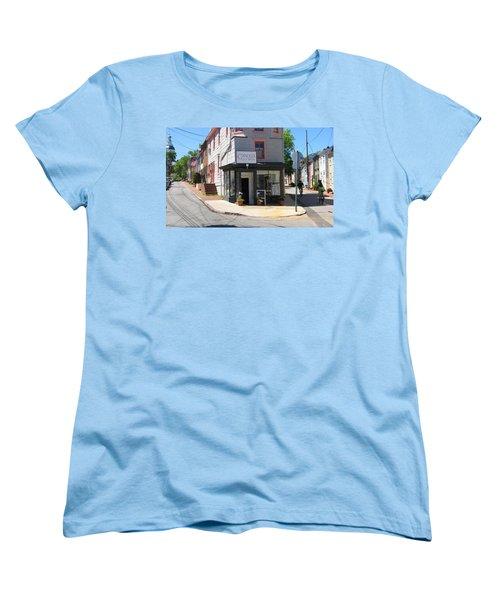 Cornhill And Fleet Women's T-Shirt (Standard Cut) by Charles Kraus