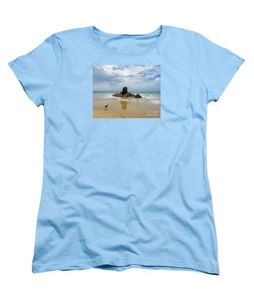 Women's T-Shirt (Standard Cut) featuring the photograph Corona Del Mar 2 by Cheryl Del Toro