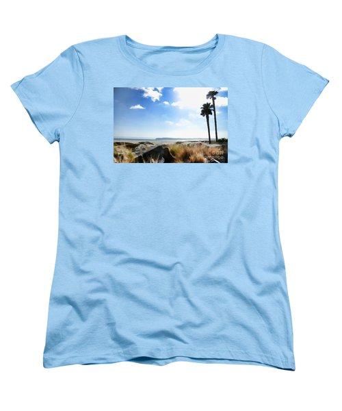 Coronado - Digital Painting Women's T-Shirt (Standard Cut) by Sharon Soberon