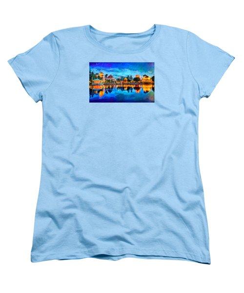 Coronado Springs Resort Women's T-Shirt (Standard Cut) by Caito Junqueira