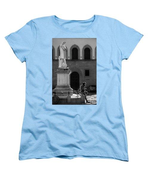 Women's T-Shirt (Standard Cut) featuring the photograph Cosimo Ridolfi by Sonny Marcyan