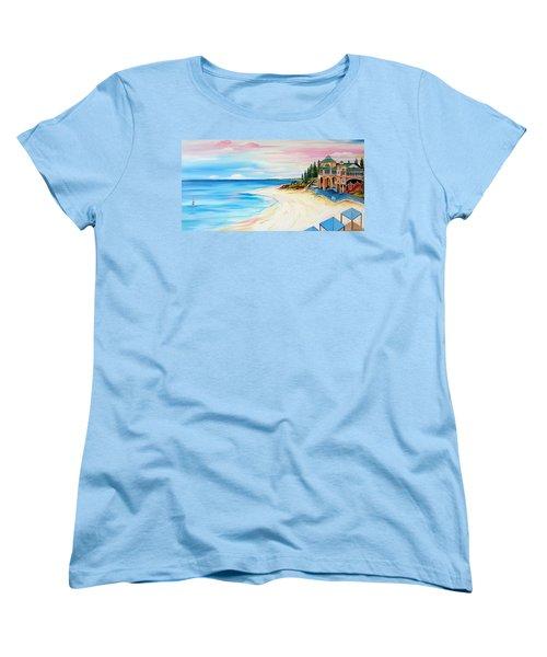 Cottesloe Beach Indiana Tea House Women's T-Shirt (Standard Cut)