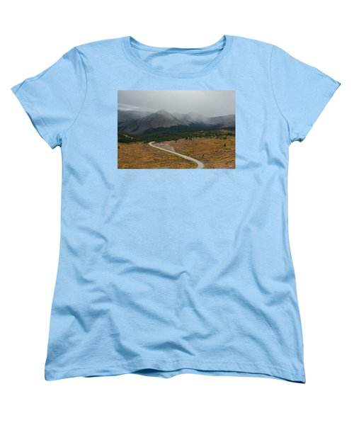 Cottonwood Pass #1 Women's T-Shirt (Standard Cut) by Dana Sohr
