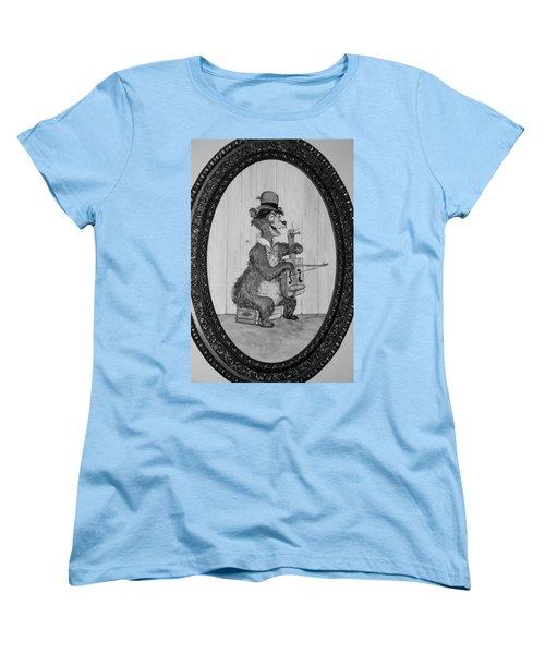 Country Bear Women's T-Shirt (Standard Cut) by Rob Hans