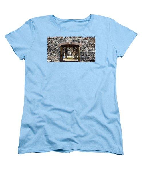 Cove Fort, Utah Women's T-Shirt (Standard Cut) by Cynthia Powell