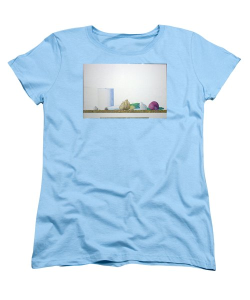 Women's T-Shirt (Standard Cut) featuring the painting Coventry by A  Robert Malcom