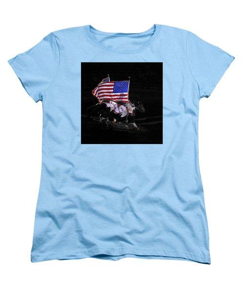 Cowboy Patriots Women's T-Shirt (Standard Cut) by Ron White