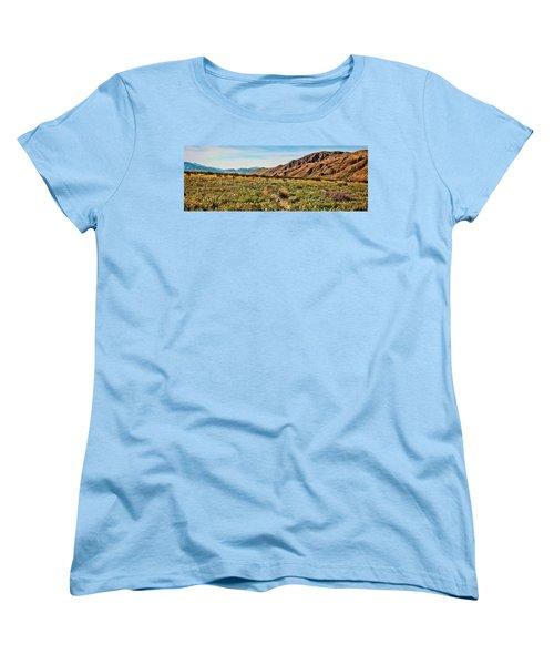 Coyote Canyon Meadow View Women's T-Shirt (Standard Cut)
