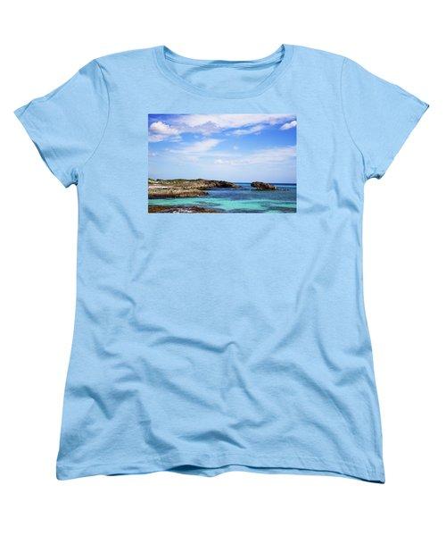 Cozumel Mexico Women's T-Shirt (Standard Cut) by Marlo Horne