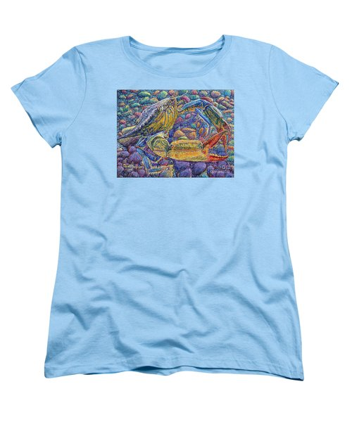 Crabby Women's T-Shirt (Standard Cut) by David Joyner