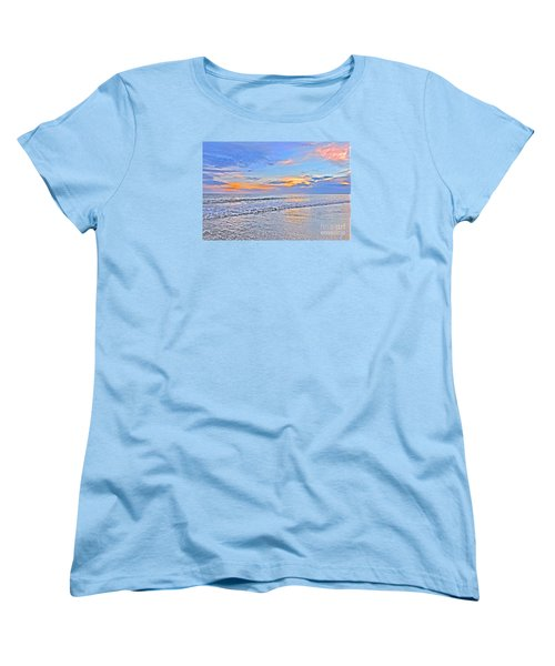 Creators Sunset Women's T-Shirt (Standard Cut) by Shelia Kempf