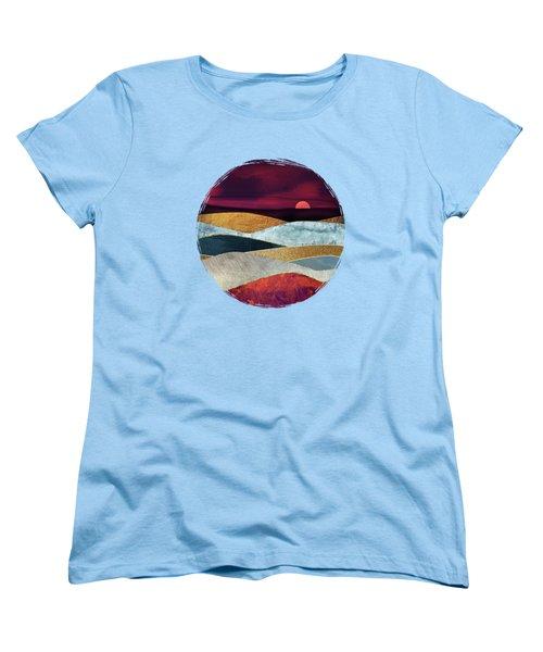 Crimson Sky Women's T-Shirt (Standard Fit)