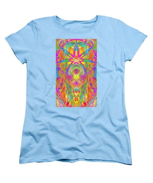 Cross 3 11 17 Women's T-Shirt (Standard Cut) by Hidden Mountain