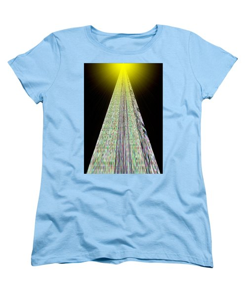 Cross That Bridge Women's T-Shirt (Standard Cut) by Bob Wall