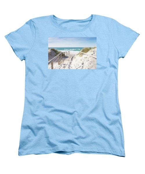Crossing The Dune Women's T-Shirt (Standard Cut) by Edgar Laureano