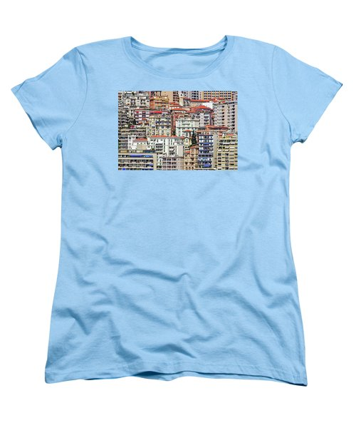 Crowded House Women's T-Shirt (Standard Cut) by Keith Armstrong