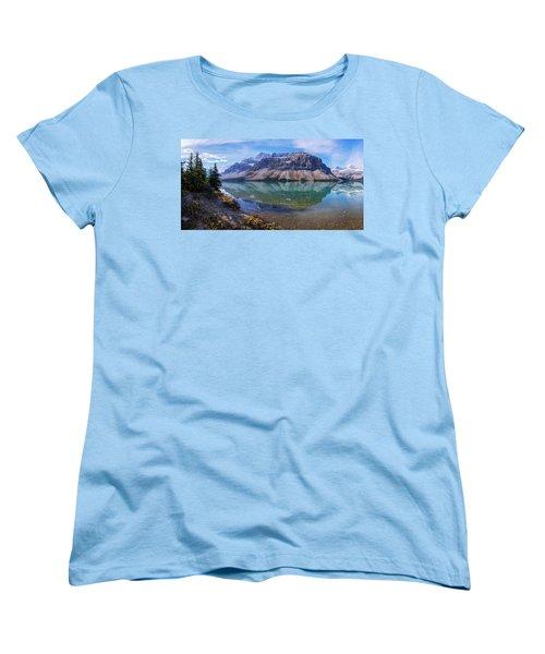 Women's T-Shirt (Standard Cut) featuring the photograph Crowfoot Reflection by Chad Dutson