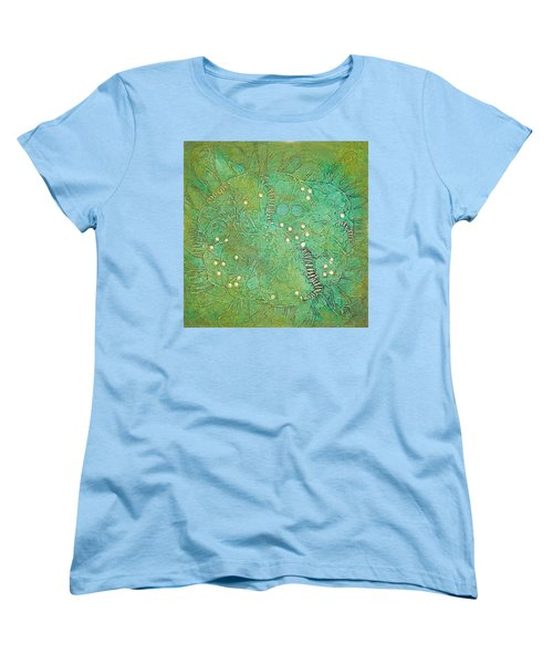 Cruciferous Flower Women's T-Shirt (Standard Cut) by Bernard Goodman