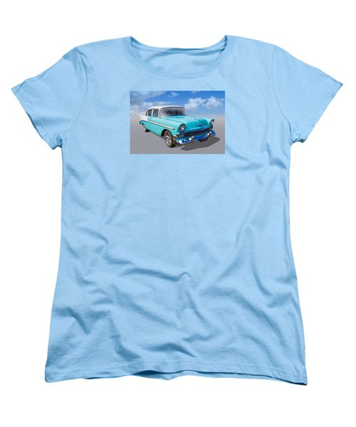Women's T-Shirt (Standard Cut) featuring the photograph Cruzing by Keith Hawley