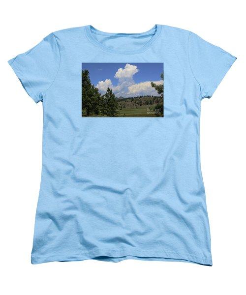 Crystal Peak Colorado Women's T-Shirt (Standard Cut) by Jeanette French