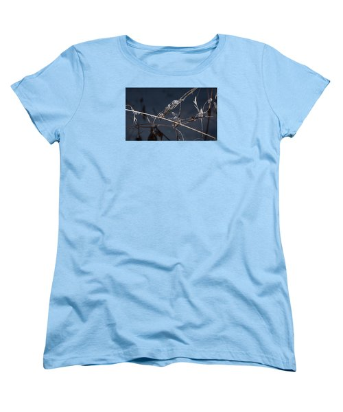 Women's T-Shirt (Standard Cut) featuring the photograph Crystals by Annette Berglund