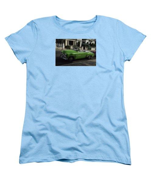 Cuba Car 3 Women's T-Shirt (Standard Cut) by Will Burlingham