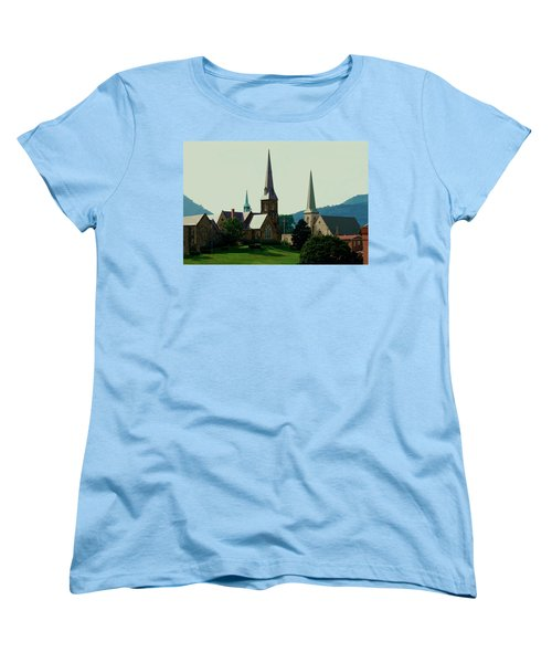 Cumberands Steeples Women's T-Shirt (Standard Cut) by Eric Liller