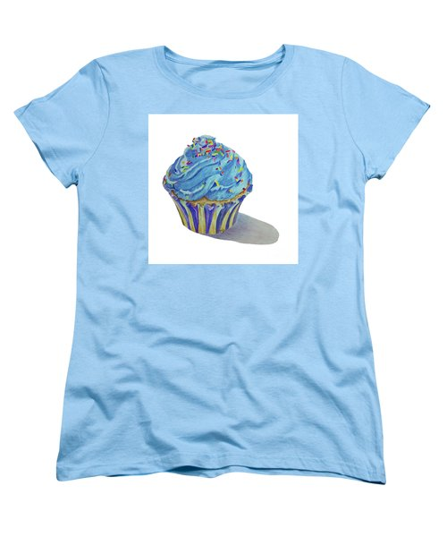 Cupcake Women's T-Shirt (Standard Cut) by Terri Mills