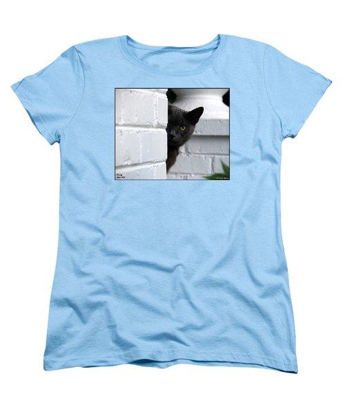 Curiosity Women's T-Shirt (Standard Cut) by Robert Meanor