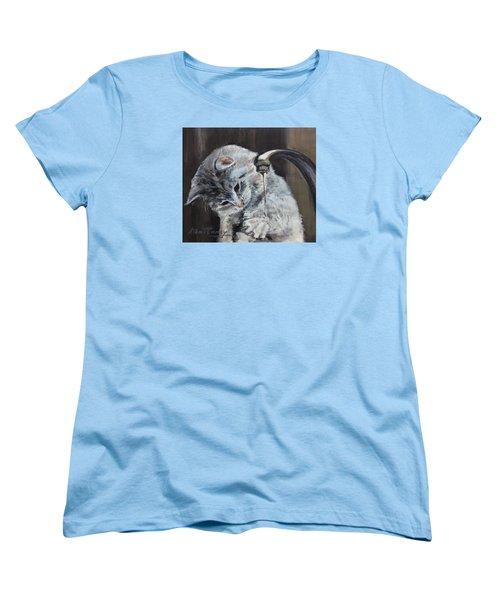 Curiosity Women's T-Shirt (Standard Cut) by Stan Tenney