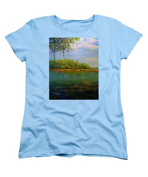 Current Events Women's T-Shirt (Standard Cut)