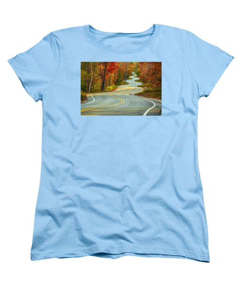 Curvaceous Women's T-Shirt (Standard Cut)