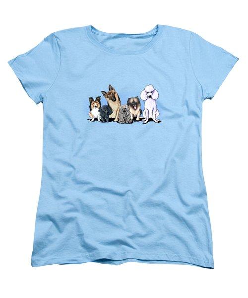 Custom Breed4ginnie Print Women's T-Shirt (Standard Cut)