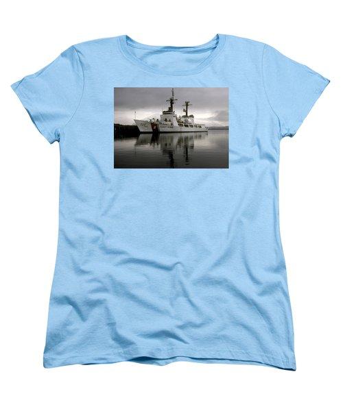 Cutter In Alaska Women's T-Shirt (Standard Cut) by Steven Sparks