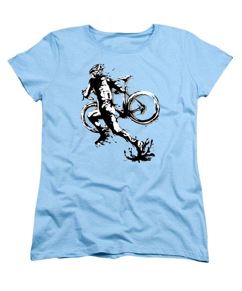 Cyclocross Poster1 Women's T-Shirt (Standard Fit)