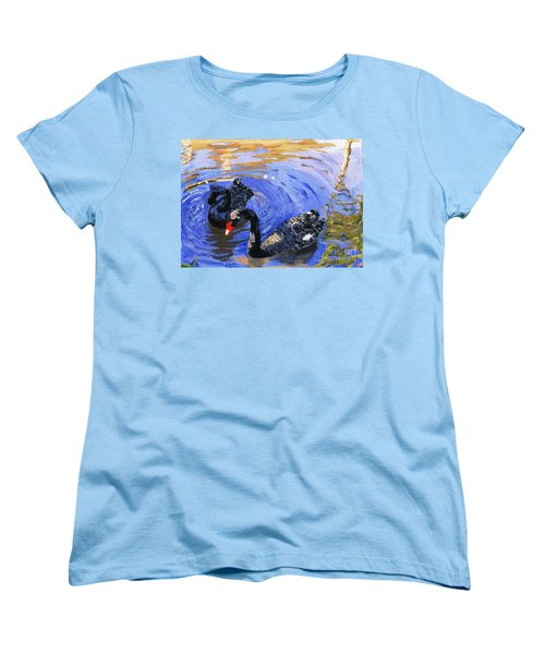 Cygnus Atratus Women's T-Shirt (Standard Cut) by Lynne Reichhart