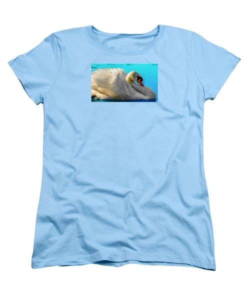 Women's T-Shirt (Standard Cut) featuring the photograph Cygnus Shine 2 by Brian Stevens
